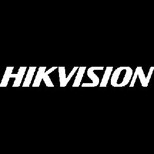 Hikvision vector logo white